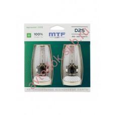 Лампа газоразрядная (ксенон) MTF Light D2S,  NIGHT ASSISTANT 100%,2шт, 3800lm, 4600K, 35W, 85V.