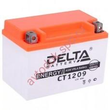 АКБ Delta moto 12v 9A/h (L+) 100A  150х86х108