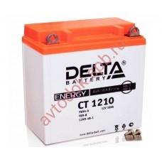 АКБ Delta moto 12v 10A/h (L+) 100А  137х77х135
