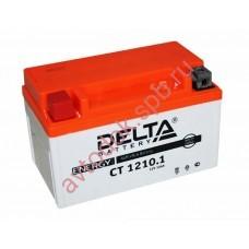 АКБ Delta moto 12v 10A/h (L+) 190А  150х86х93