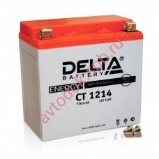 АКБ Delta moto 12v 14A/h (L+) 200А  151х88х147