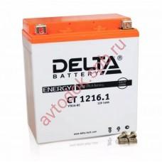 АКБ Delta moto 12v 16A/h (L+) 230А  151х88х164