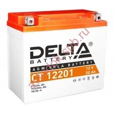 АКБ Delta moto 12v 18A/h (R+) 270A  177x88x154