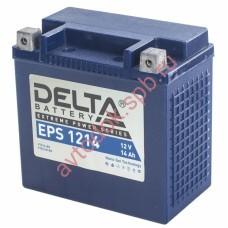 АКБ Delta moto 12v 14A/h (L+) 220А GEL  149х87х144