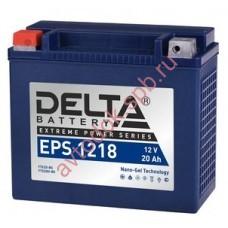 АКБ Delta moto 12v 20A/h (L+) 270А GEL 176х87х154