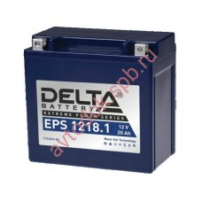 АКБ Delta moto 12v 20A/h (L+) 250А GEL 151х87х161