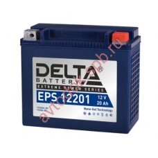АКБ Delta moto 12v 20A/h (R+) 310A (176х87х154)