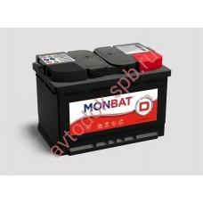 АКБ MONBAT Dynamic 62Ah 520En (242x175x190) R+
