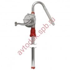 Насос для перекачки топлива из бочки ручной роторный 25л/мин.(АЛ) БЕЛАК