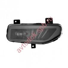Дополнительные фары MTF светодиодные (штатн.) Nissan new линза черные 12В, 8Вт,5000K, ECE