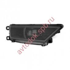 Дополнительные фары MTF светодиодные VW Tiguan 12В, 8Вт, 5000K, линза,черные ECE R19.