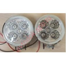 Дополнительные фары противотум. HY-009 LED (5-диодов) круглые