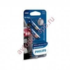 "Лампа ""Phillips""12V H6W BAX9s BLUE VISION HALOGEN (блистер 2шт)"