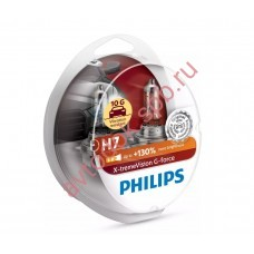 """Лампа """"Phillips""""Н7 12V- 55W (PX26d) X-tremeVision G-force (2шт.) (Philips)"""