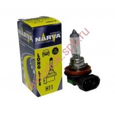 Лампа Narva H11 55вт (PGJ19-2) LONG LIFE увеличенный ресурс