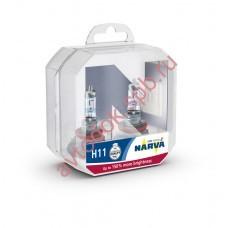 Лампа Narva H11 55вт RANGE POWER 150 (бокс 2шт) *04810 121*