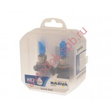 Лампа Narva HB3 RANGE POWER WHITE 65вт (P20d) 4500K (бокс 2шт.)