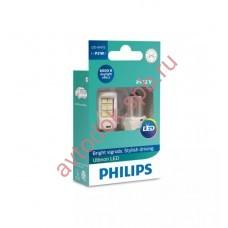 """Светодиодная лампа """"Phillips"""" P21вт 2шт 12/24V (BA15s) LED WHITE"""