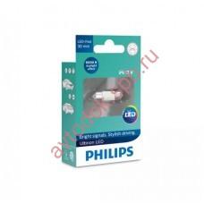 "Светодиодная лампа ""Phillips""T10,5вт Fest 12V (SV8.5-30/11) LED 6000K"