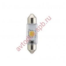 "Светодиодная лампа ""Phillips"" салонн. C5W 35мм 2 SMD WINTE VISION LED 4000K"