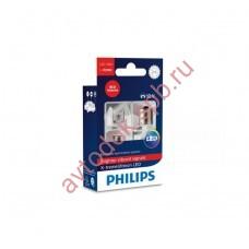 """Светодиодная лампа """"Phillips"""" Р21W RED X-TREME VISION (2шт) 12/24V"""