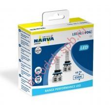 Светодиодная лампа NARVA H11/H8/H16 12V 6500 K  Range Performancer LED (бокс 2шт.)
