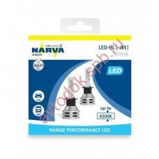 Светодиодная лампа NARVA H1  12V 6500 K  Range Performancer LED (бокс 2шт.)