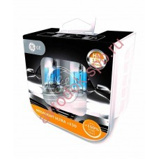 Лампа General Electric  H-4 60/ 55w Megalight Ultra +150% (2 шт ) 50440NXNU