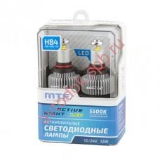 """Светодиодные лампы """"MTF"""" HB4, HB3 Active Night (2шт. к-т) 5500К"""