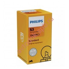 """Лампа мото """"Phillips"""" S3 12v 15w P26s"""