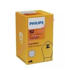 """Лампа мото """"Phillips"""" S2 12v 35/35w BA20d (31488)"""