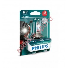 "Лампа мото ""Phillips""Н7 12v 55w+130% X-treme Vision MOTO 12972XV+BW"