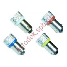 Светодиод T20W (BA9s) SMD LED+70% желтый