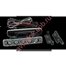 Ходовые огни ВЫМПЕЛ DRL-HP-L5 (метал. корпус 5 диодов)