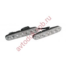 Ходовые огни ВЫМПЕЛ DRL-HP-L6 (метал. корпус 6 диодов)