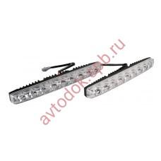 Ходовые огни ВЫМПЕЛ DRL-HP-L9 (метал. корпус 9 диодов)