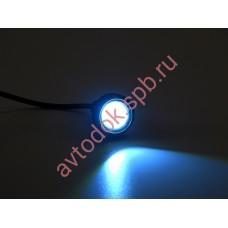 Ходовые огни ВЫМПЕЛ DRL-YY-3W (метал. корпус точечные 22мм)