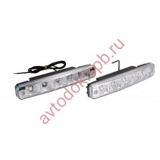 Ходовые огни ВЫМПЕЛ DRL-FL-5 FLUX (пласт. корпус 5 диодов)