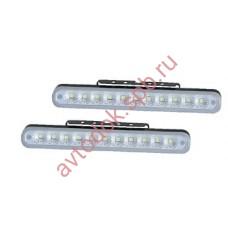 Ходовые огни HY-091-18 LED (12V, 205*23мм) 11-диодов