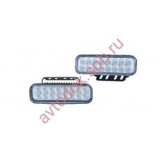 Ходовые огни HY-091-19 LED (12V, 145*45мм) 16-диодов