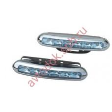 Ходовые огни HY-092-17 LED (12V, 150*25мм) 6-диодов