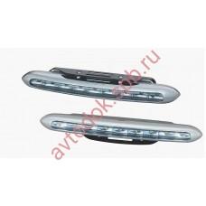 Ходовые огни HY-092-18 9LED (12V, 220*15мм) 9-диодов