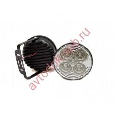 Ходовые огни HY-092-32-P 5LED (12V, Dx100мм) круглые 5-диодов