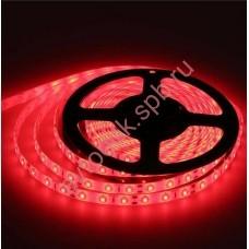 Светодиодная лента 12 V 5 м. 60 LED 5050 красный цвет,IP65
