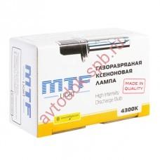 Лампа газоразрядная (ксенон) MTF Light 12В H1 5000К ST