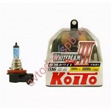 "Лампа ""Koito"" Н16 19вт Whitebeam 4300K (2шт) BOX"