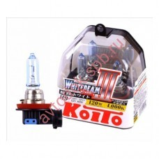 "Лампа ""Koito"" Н9 65вт Whitebeam 4300K (2шт) BOX"