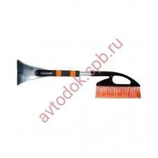 Щетка для снега со скребком и мягкой ручкой 57см AB-2236 АВТОСТОП