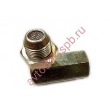 Имитатор датчика кислорода Е-5 угол 90 (с кат. вставкой)