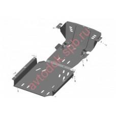 Защита двигателя 21213  3мм сталь, ПДф,КПП,РК